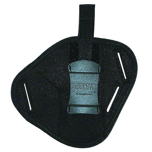 "Blackhawk 40PC01BK Pancake Holster 3""-4"" Barrel Med Auto AMBI Black"