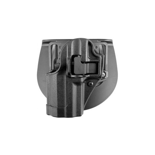Blackhawk 410567BK-L Serpa CQC Holster w/ Paddle Matte Finish Glock 42 Black LH