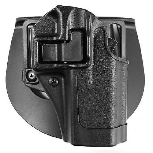 Blackhawk 410525BK-R Serpa CQC Holster w/ Paddle Matte Finish S&W M&P 9/40 Black RH