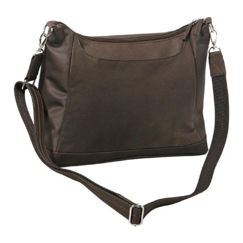 """Gun Tote'n Mamas Hobo Style Concealed Carry Large 14""""x11""""x5.5"""" GTM 90 BRN"""
