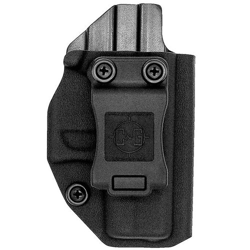 C&G Holsters 044-100 Covert IWB Kydex Black RH