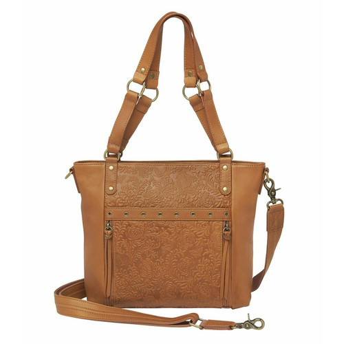 "GUN Tote'n Mamas GTM-122/DBT Shoulder Style Concealed Carry Shoulder Purse 10""x11.5""x4.5"" Tan AMBI"