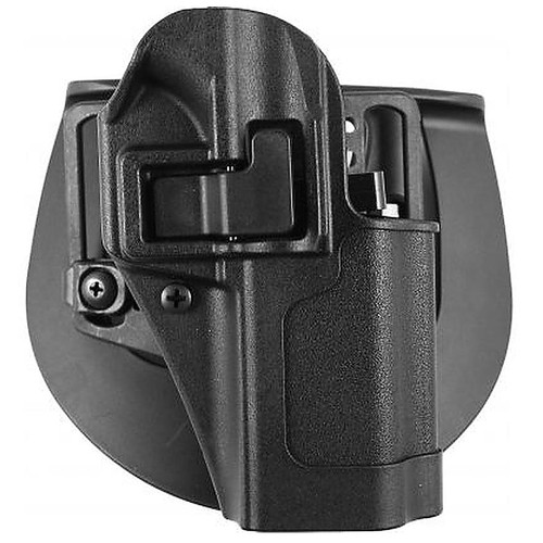 Blackhawk 410541BK-R Serpa CQC Holster w/ Paddle Matte Finish Ruger SR9 Black RH