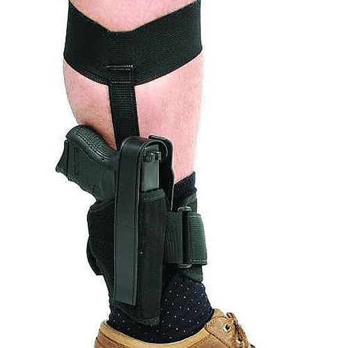 Blackhawk 40AH10BK-R Ankle Holster Small Auto 22/380 Black RH