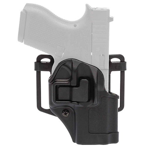 Blackhawk 410568BK-L Serpa CQC Holster w/ Paddle Matte Finish Glock 43 Black LH