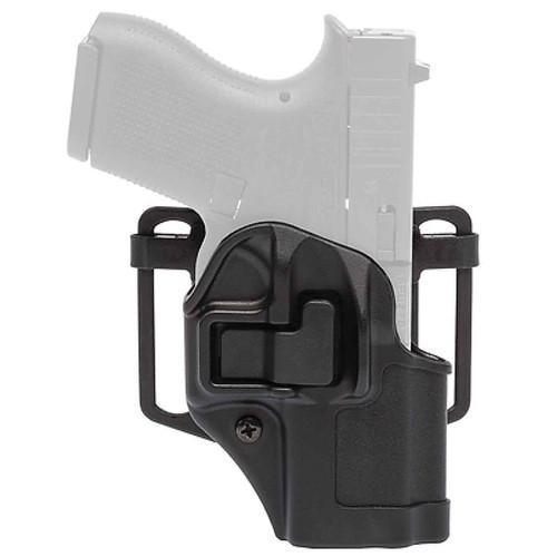 Blackhawk 410568BK-L Serpa CQC Holster w/ Paddle Matte Glock 43 Black LH