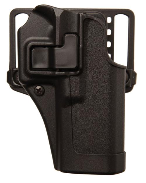 "Blackhawk 410565BK-R Serpa CQC Holster w/ Paddle Matte Finish Springfield XDS 3.3"" Black RH"