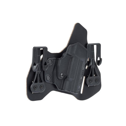 Blackhawk 422000BK-R Leather Tuckable Pancake Holster Glock 9 40 357 Black RH