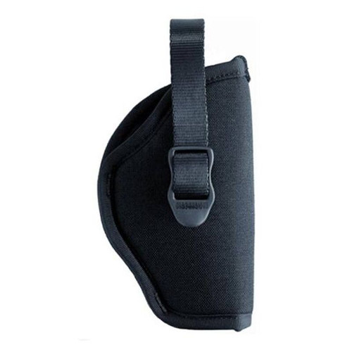 "Blackhawk 73NH10BK-R Hip Holster With Retention Strap 7""-8.5"" Barrel Revolvers Black RH"