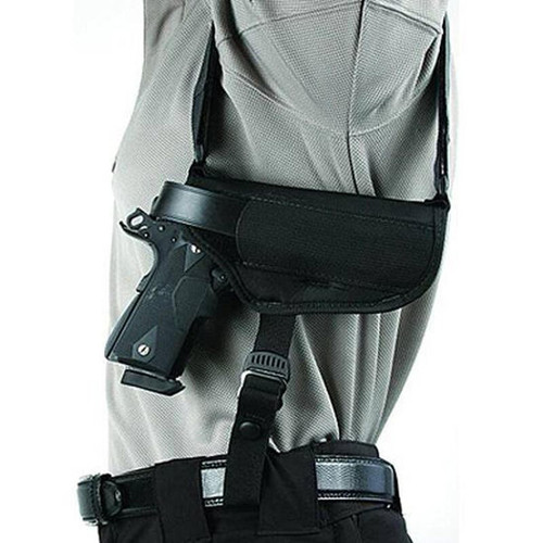 "Blackhawk 40HS05BK-LG Shoulder Holster Horzl 4.5""-5"" Barrel Large"