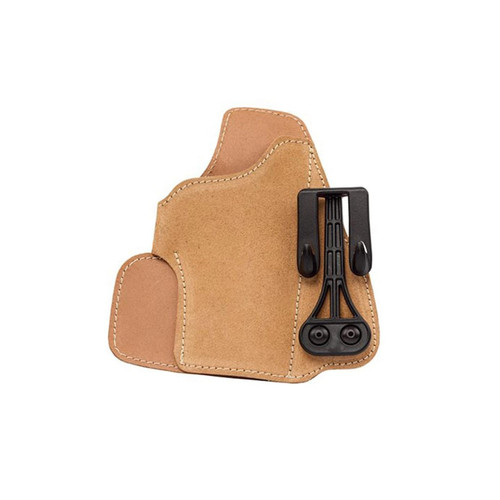 Blackhawk 421603BN-R Leather Tuckable Holster Glock 26/27 Sub-Compact 9mm Brown RH
