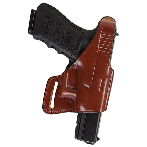 Bianchi 24912 75 Venom Belt Slide Leather Hip Holster Tan RH
