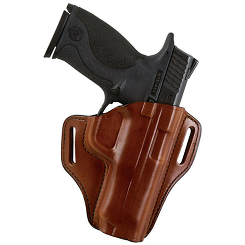 Bianchi 25044 57 Remedy Belt Slide Leather Hip Holster Tan RH