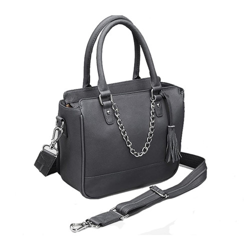 """Gun Tote'n Mamas Park Avenue Concealed Carry Tote 9.75""""x8""""x4"""" GTM-52/BK"""