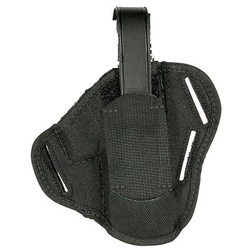 "Blackhawk 40PC05BK Pancake Holster 3.75""-4.5"" Lrg AMBI Black"