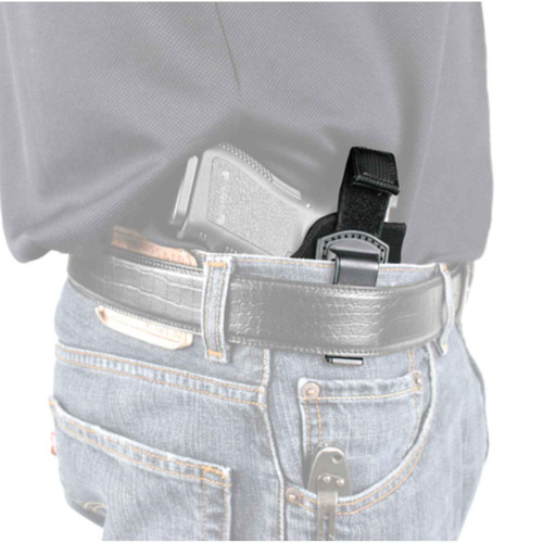 "Blackhawk 73IR00BK-L ISP Holster With Retention Strap 2""-3"" Barrel Small/Med Revolver Black LH"