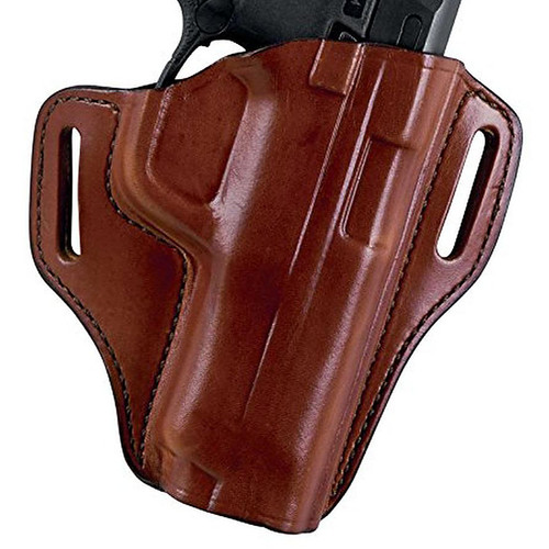 Bianchi 26950 57 Remedy Belt Slide Leather Hip Holster Tan RH