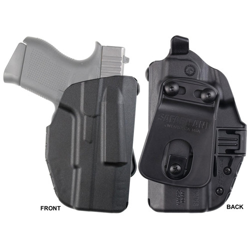 Safariland 7371-179-411 7TS Micro ALS Concealment Paddle Holster S&W M&P Shield 9,40 Nylon Black RH