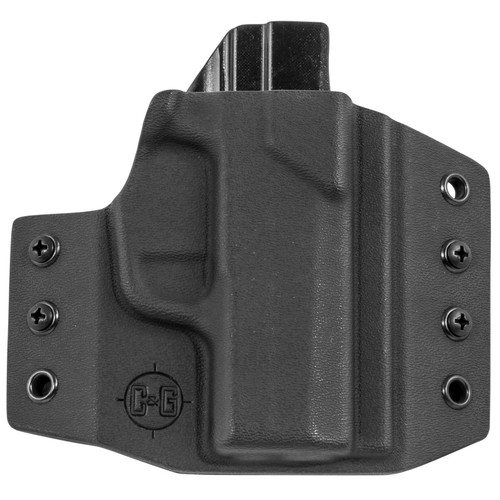 C&G Holsters 300-100 Covert OWB Kydex Black RH