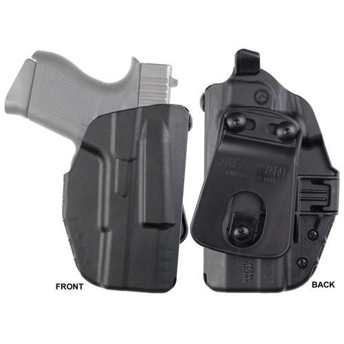 Safariland 7371-89518-411 7TS ALS Concealment Paddle Holster Glock 43 Nylon Black RH