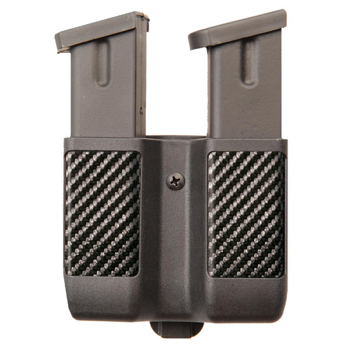 Blackhawk 410610CBK Double 9mm/10mm/40/45 Double Stack Mag Case Black