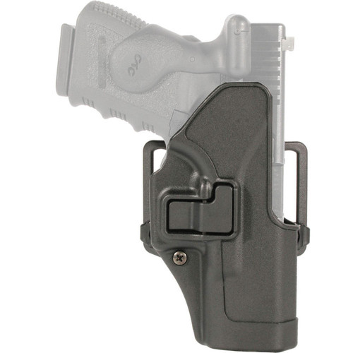 Blackhawk 410503BK-L Serpa CQC Carbon Fiber Holster w/ Paddle Matte Finish Colt 1911 Black LH
