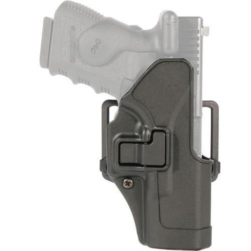 Blackhawk 410503BK-L Serpa CQC Carbon Fiber Holster w/ Paddle Matte Finish Colt 1911 Black LH