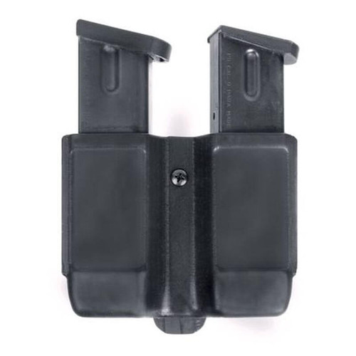 Blackhawk CQC Double Stack 9/40 Double Mag Case Black Matte Finish