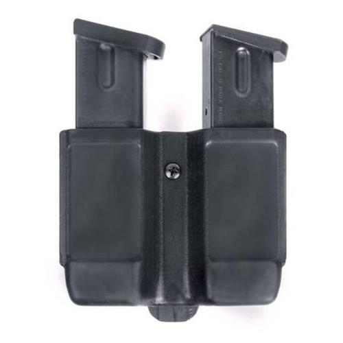 Blackhawk CQC Double Stack 9/40 Double Mag Case Black Matte Finish