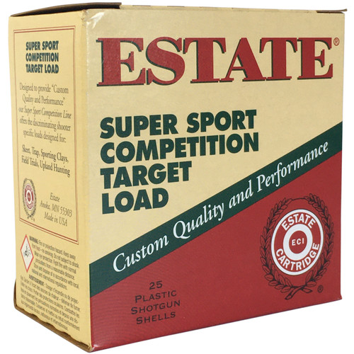 ESTATE SS12XH 8 12GA 2-3/4'' HDCP 1-1/8OZ #8 250 RD CASE (1250 FPS)