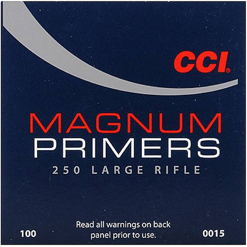 CCI 250 MAG LARGE RIFLE PRIMER 100 CT