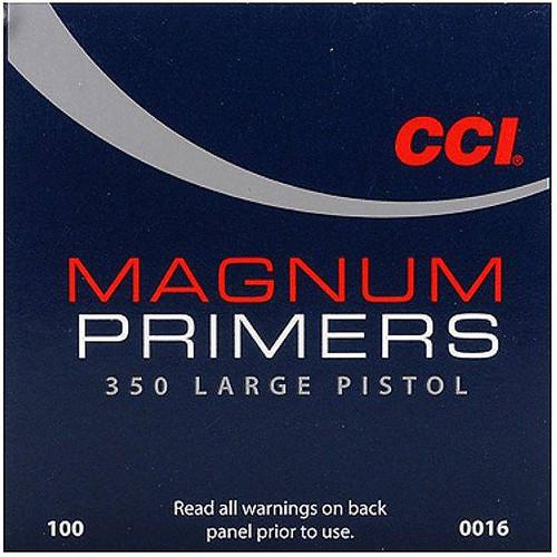 CCI 350 MAG LARGE PISTOL PRIMER 100 CT
