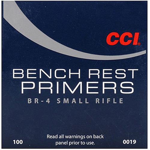 CCI BR4 SMALL RIFLE PRIMER 100 CT