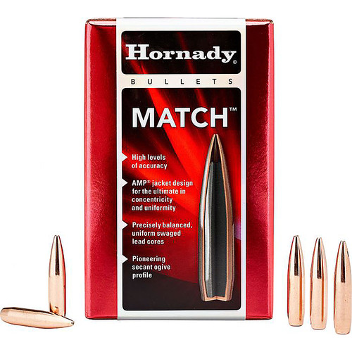 HORNADY 24561 6MM .243 108 GR ELD? MATCH 100 CT.