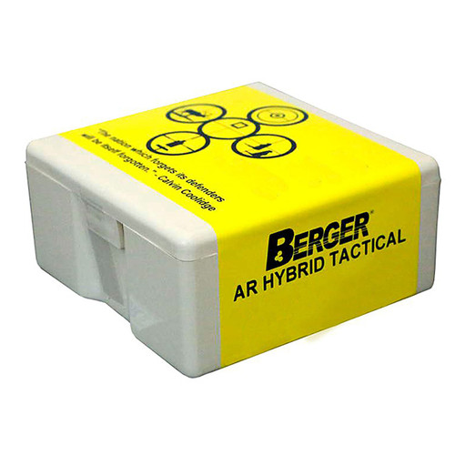 BERGER 26195 6.5MM 130GR AR HYBRID OTM TACTICAL 100 CT.