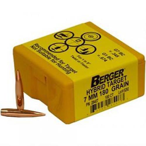 BERGER 26414 6.5MM 140GR HYBRID TARGET 100 CT.