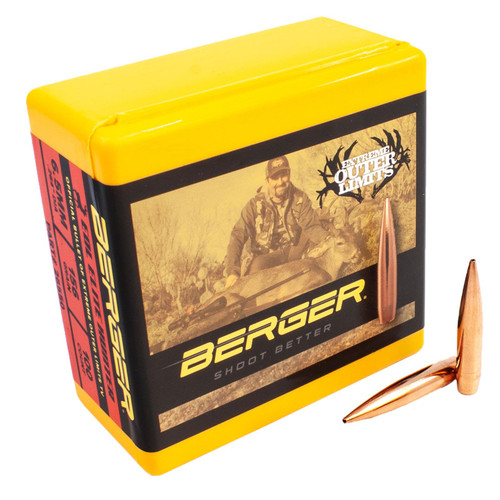 BERGER 26550 6.5MM 156 GR EOL ELITE HUNTER 100 CT.