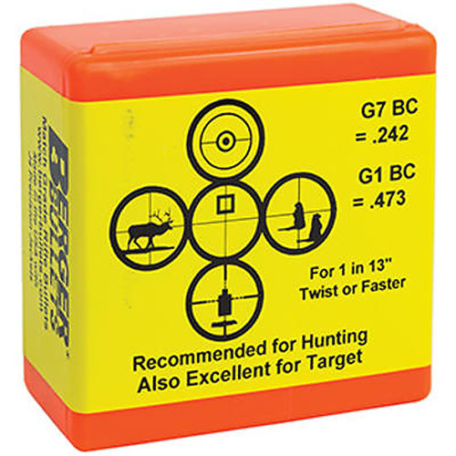 BERGER 30510 30CAL 168GR VLD HUNTING 100 CT.