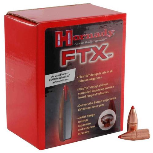 HORNADY 35105 35 CAL .358 200 GR FTX 100 CT.