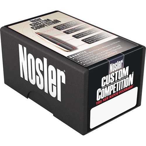 NOSLER 44847 45CAL (.451) 185GR CUSTOM COMPETITION JHP 250 CT.