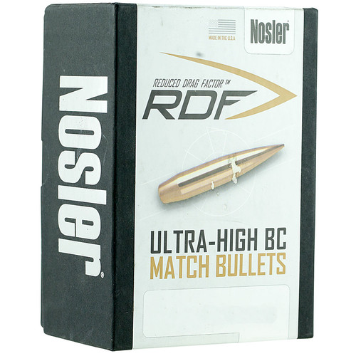 Nosler RDF Bullets 22 Caliber (224 Diameter) 70 Grain Hollow Point Boat Tail Box of 500