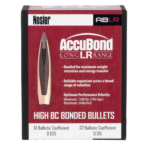 NOSLER 58922 ABLR 6.5MM 142GR SP 100 CT.