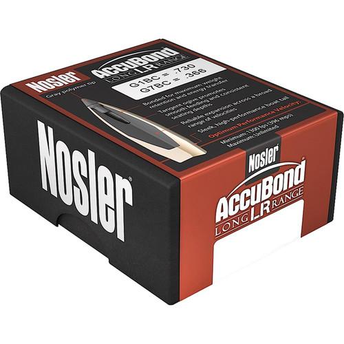 NOSLER 58943 ABLR 6.5MM 129GR SP 100 CT.