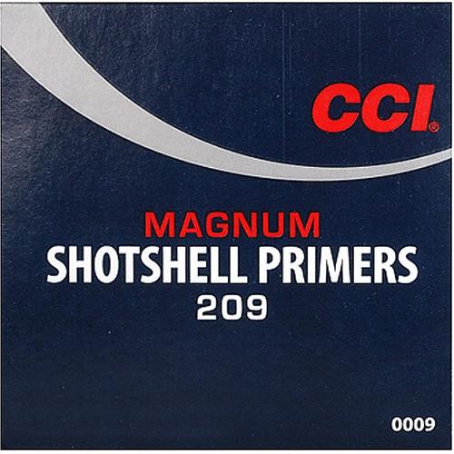 CCI 209M MAGNUM SHOT SHELL PRIMER 100 CT
