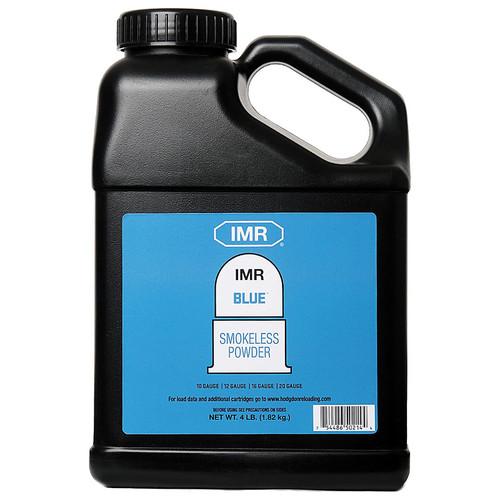 IMR Blue Smokeless Gun Powder 4 lb