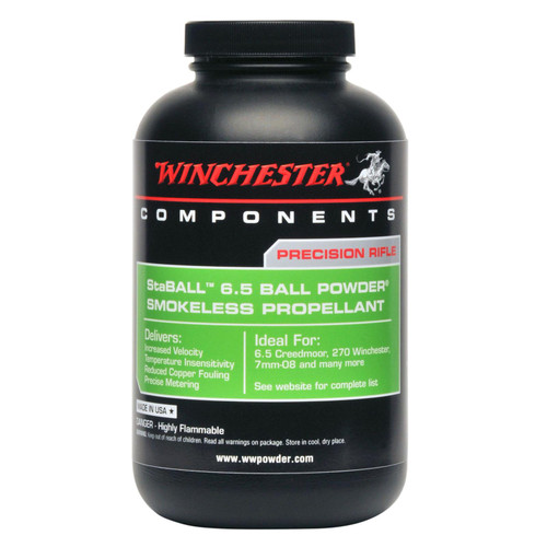 WINCHESTER STABALL1 STABALL 6.5 1 LB.