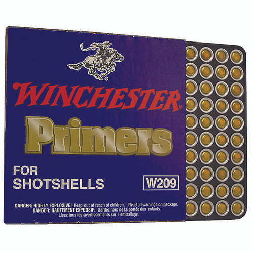WINCHESTER W209 SHOT SHELL PRIMERS 100 CT