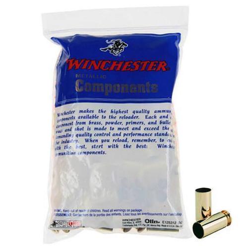 WINCHESTER 357 REMINGTON MAGNUM UNPRIMED PISTOL BRASS CASES 100 COUNT WSC357MU