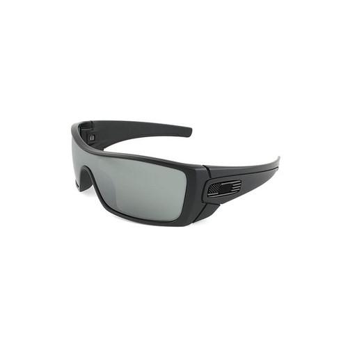 Oakley Men's Batwolf Flag Collection Sunglasses Black/Prizm Black
