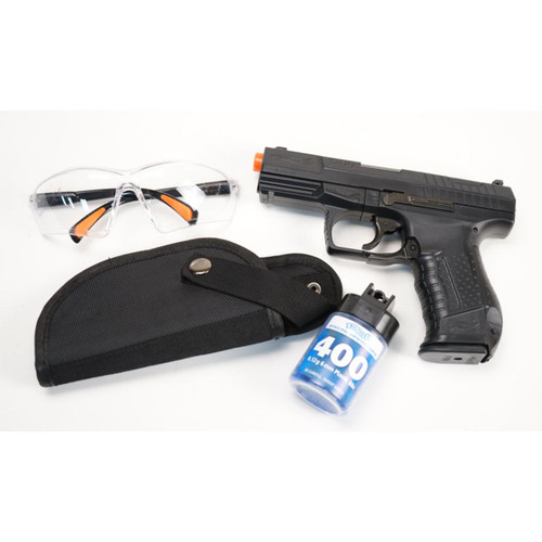 Walther P99 Spring Pistol - Black - Shooters Kit